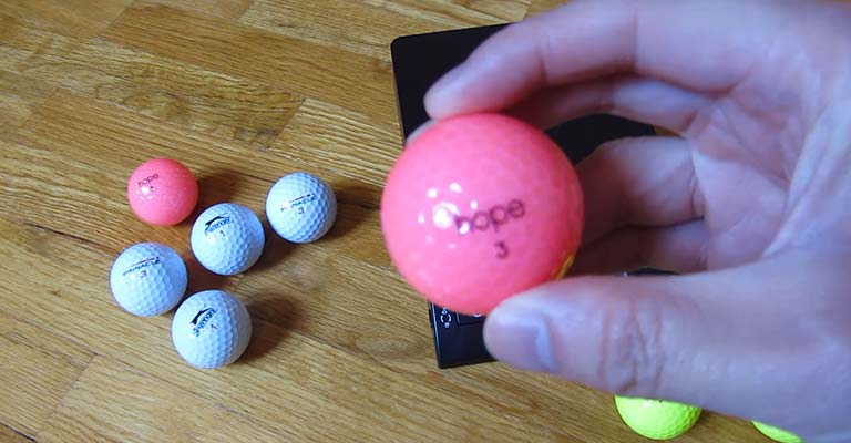Why are Golf Balls Numbered