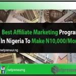 Best Affiliate Marketing Programs-Netpreneur Nigeria