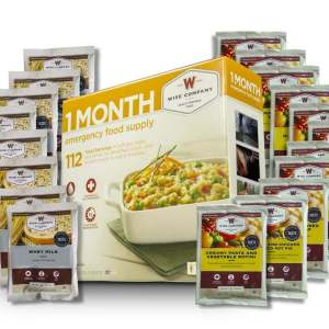 1 Month Emergency Food Supply - 112 Servings - 5YR Shelf Life
