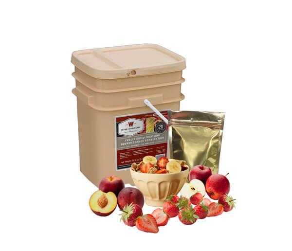 120 Serving Wise Fruit Bucket - Emergency Food Storage