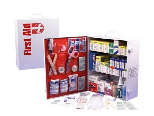 3 Shelf First Aid Cabinet FAC3