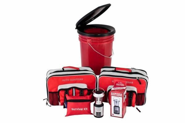 Guardian Family Emergency Preparedness Bundle - Home & Car Survival Kits - PPK3