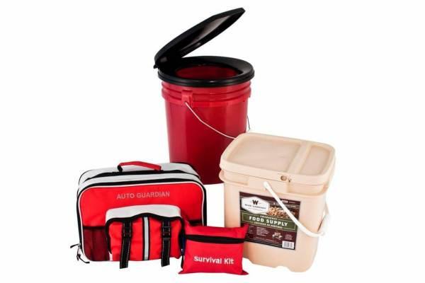 Guardian Family Emergency Preparedness & Food Storage Bundle - PPK4