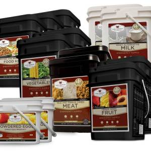 Wise Company 3 Month Gluten-Free Emergency Food Supply, 1620 Servings - FSGF3