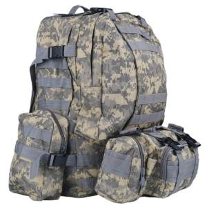 50 liter military backpack ACU camouflage