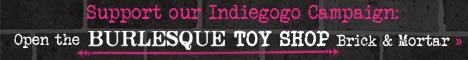Burlesque IndieGoGo Banner