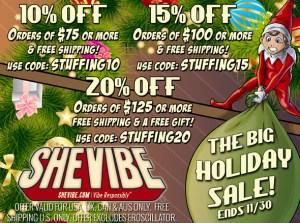 SheVibe Black Friday