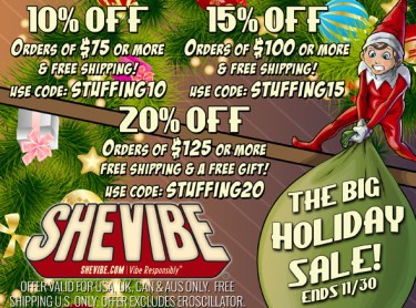 SheVibe Black Friday