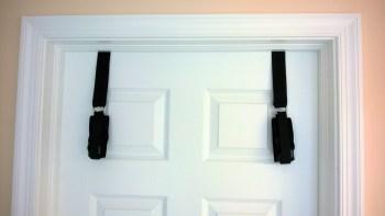 Door Jam cuffs on door