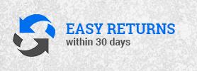 Easy Returns within 30 das