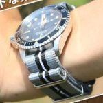 NATOタイプ ナイロンストラップレビュー。どんな腕時計もカジュアルに!