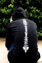 Spine Illustration hoodie