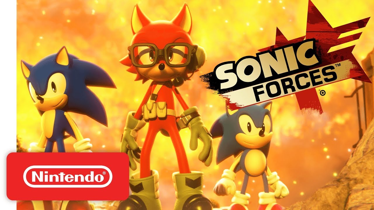 Sonic Forces For Nintendo Switch Launch Trailer