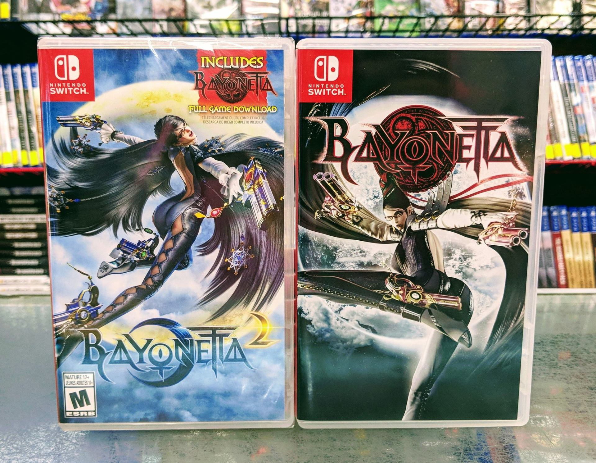Bayonetta 1 Amp 2 Physical Release Will Have A Reversible Box Art For Nintendo Switch NinMobileNews