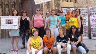 Manifestación de S.O.S. Bebés Robados en Valencia