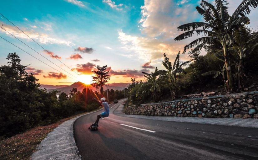 #1 Lombok Skate Trip 18: Longboarden unter Palmen