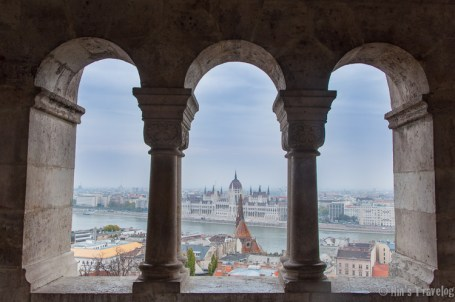 View from Fishermen Bastion