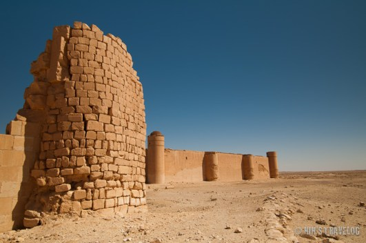 Resafa, another archeological site in Syria, built in the 9th BC by the Assyrians