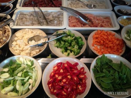 The Ingredient of Nasi Goreng that we can choose of.