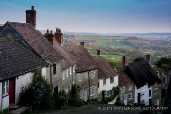 One of the many pretty villages in England, - Shaftesbury