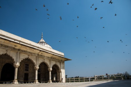 The White Palace in Delhi