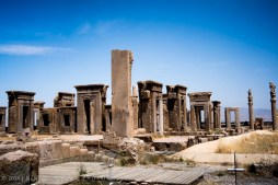 The ruin of Persepolis now