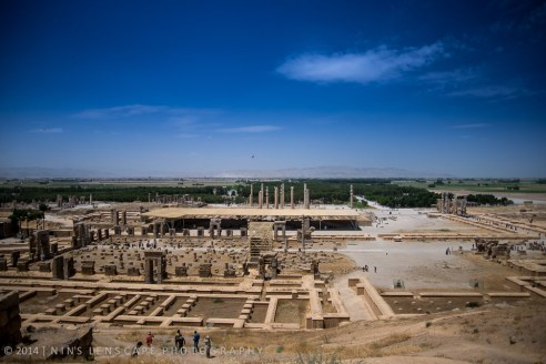 Persepolis as viewed from the hill