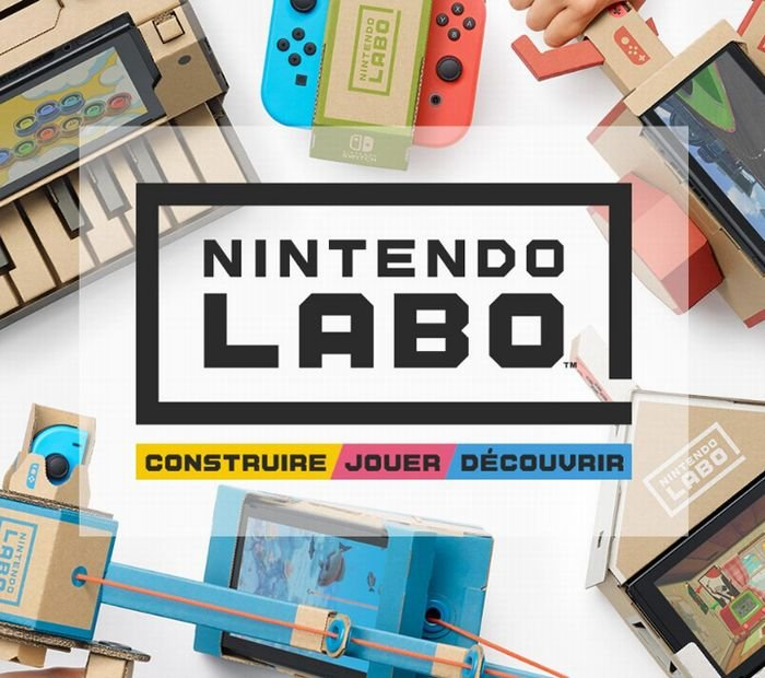 nintendo labo sur nintendo switch kit robot 58 90 multi kit 51 49 et ensemble de. Black Bedroom Furniture Sets. Home Design Ideas