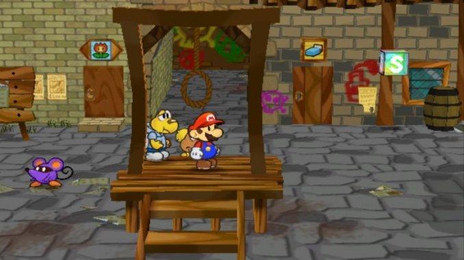 Paper Mario κρεμάλα