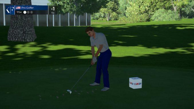 bad graphics PGA Tour 2K21