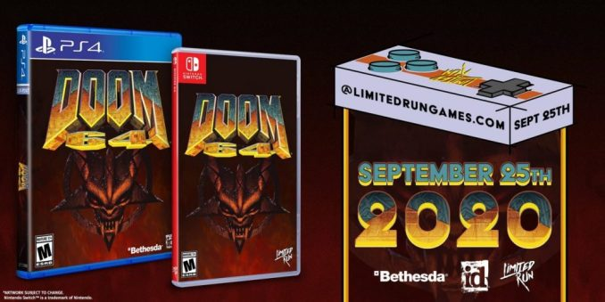 Doom 64 Limited Run Games