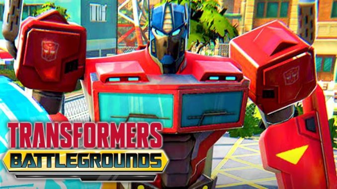 TRANSFORMERS: BATTLEGROUNDS