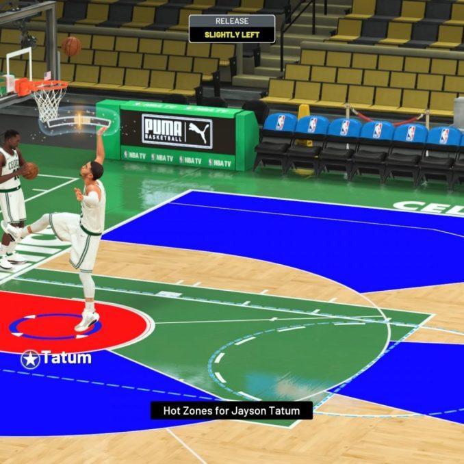 NBA 2K21 shot meter pro shooting stick