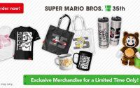 SUPER MARIO BROS. 35TH ANNIVERSARY PRODUCTS Merchandise
