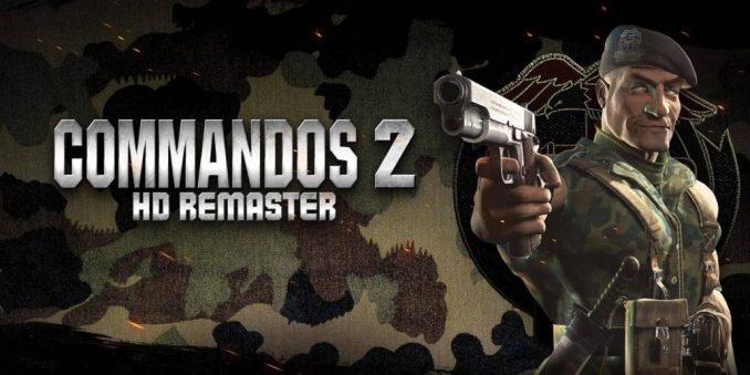 Commandos 2 HD Key Art