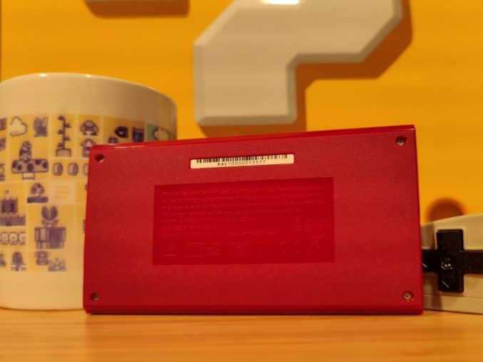 GAME & WATCH Back plate