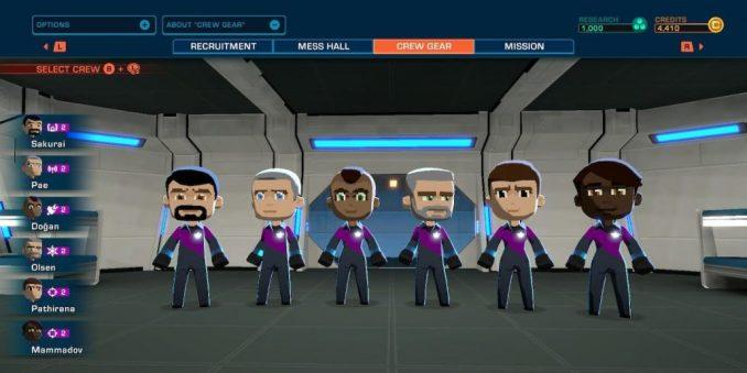 space crew- members