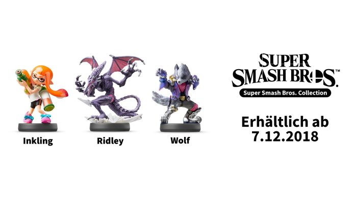 super-smash-bros-amiibo-collection-inkling-ridley-wolf