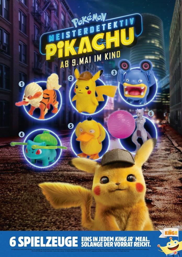 Meisterdetektiv Pikachu BURGER KING