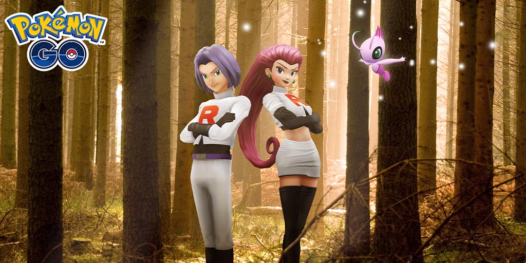 Shiny Celebi erscheint in Pokémon GO, auch Jessie & James kehren zurück! • Nintendo Connect