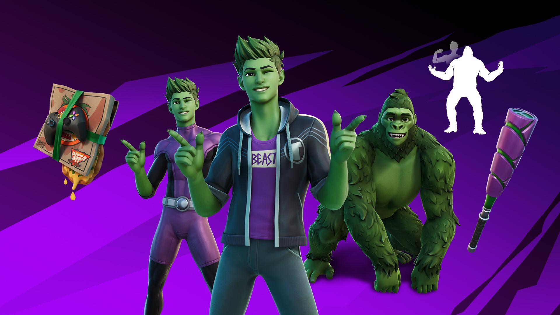Fortnite: Nächstes Teen Titans-Mitglied Beast Boy spielbar • Nintendo Connect