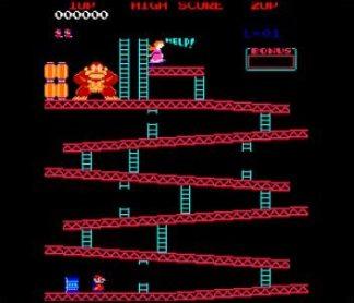 Jumpman dans le jeu Donkey Kong
