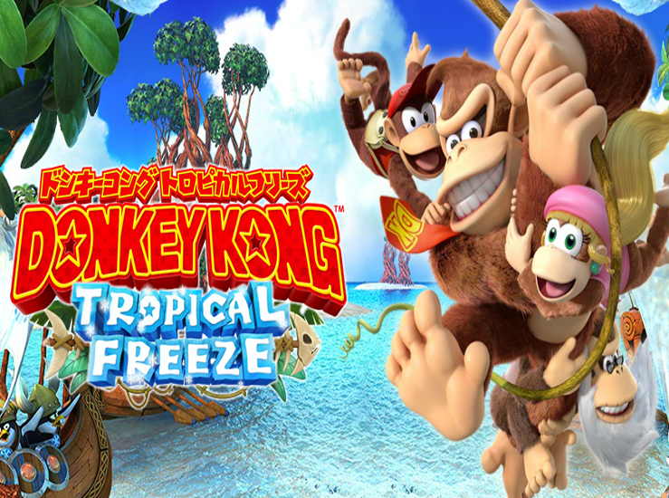 Donkey Kong Country: Tropical Freeze en vidéo...