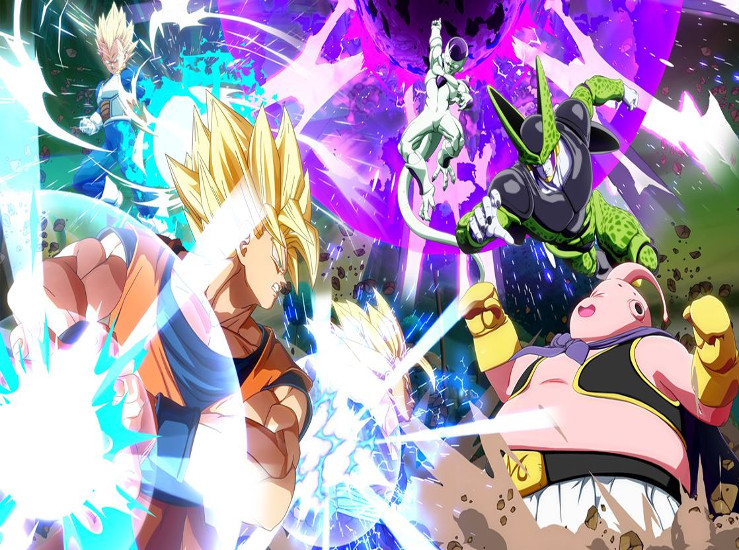 Dragon Ball FighterZ se compare en vidéo...