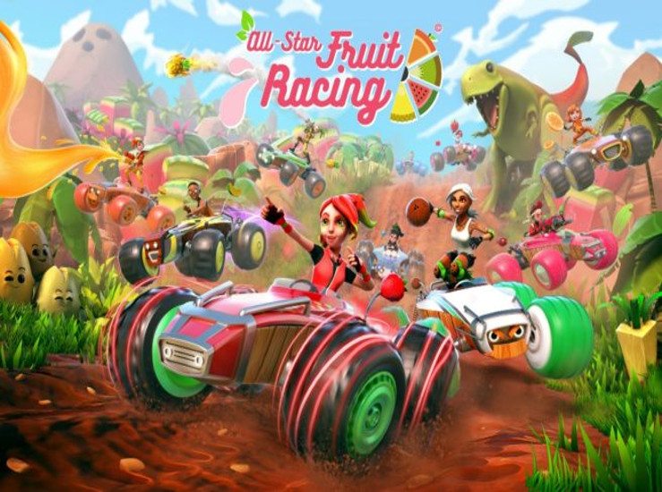 All-Star Fruit Racing, une jaquette...