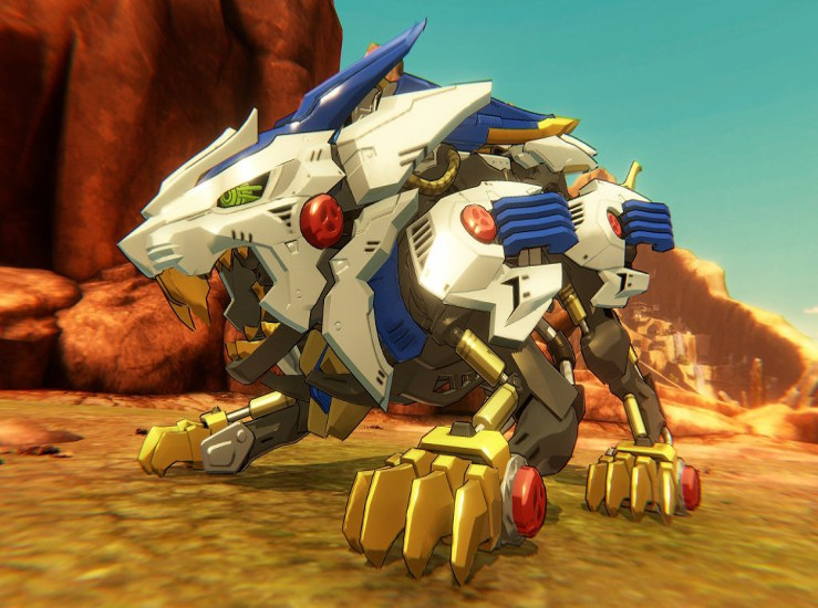 Zoids Wild: King of Blast, une démo au Japon...