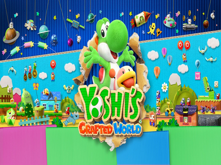 Yoshi's Crafted World, plus d'images...