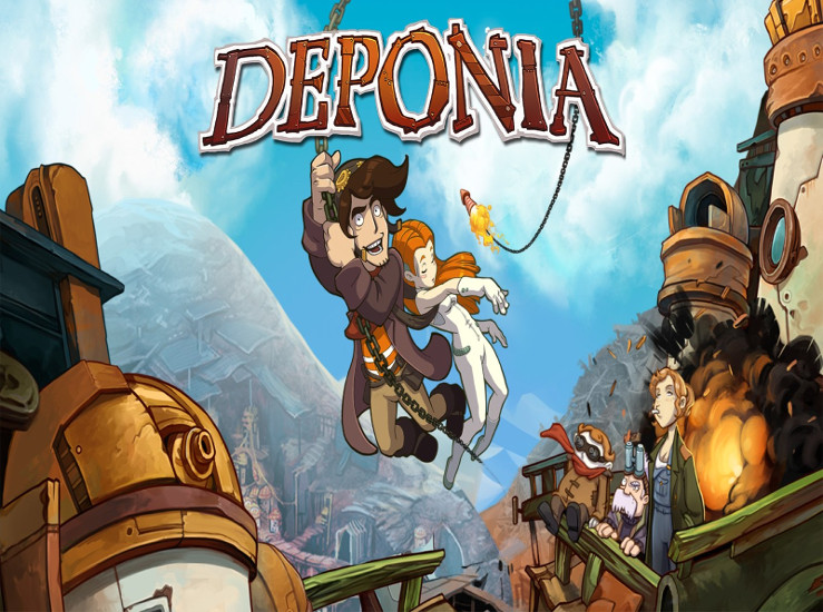 Deponia disponible sur Switch… – NintendoStreet