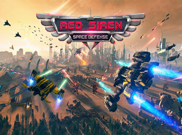 Red Siren: Space Defense aussi sur Switch...