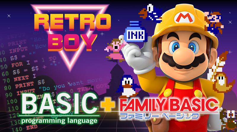 RetroBoy | BASIC + Family Basic do Famicom